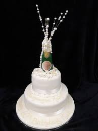 2 Tier Champagne Birthday Cake Celticcakescom