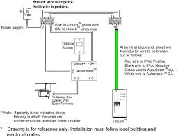 genie garage door sensor bypass doors design brilliant safety wiring diagram