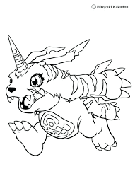 Digimon Coloring Book 2 Digimon Coloring Pages Agumon And Friends