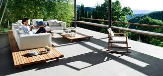 Outdoor Lounge Trib Vis Vis Sofa High End Outdoor Sofa In Teak