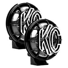 Kc hilites® apollo pro™ 5 2x55w round spread beam lights