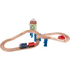 tomy chuggington wooden railway easy track cargo crossover com