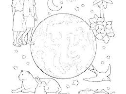 Coloring Pages Of Creation Showideeinfo
