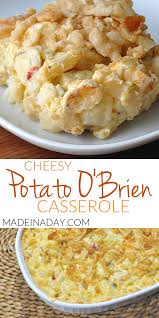 obrien potato cerole recipe cheesy onion and peppers with potatoes cerole sure to be