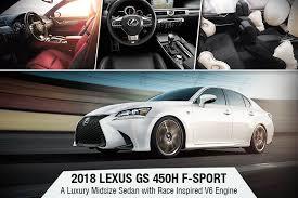 2018 lexus 450h. beautiful 2018 2018 lexus gs 450h fsport  a luxury midsize sedan with race inspired v6 inside lexus