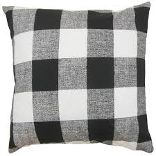 black and white euro sham. Plain Sham Alfonso Plaid Euro Sham Black White And