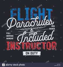 Quote Design Graphic Vintage Hand Drawn Tee Graphic Design Flight Instructor
