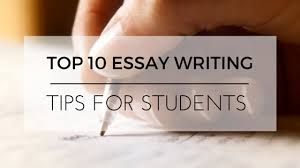 top essay writing tips for students