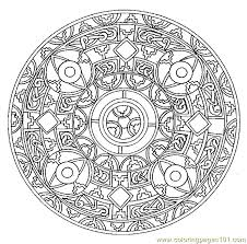 Small Picture Mandala Coloring Pages Online Picture Gallery Website Mandala