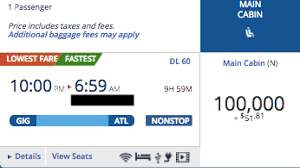 How I Saved Huge Miles Booking A Delta Flight With Partners