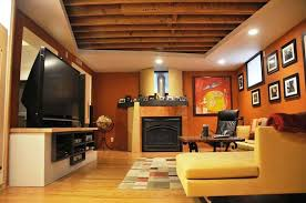 Basement ceiling ideas cheap Cool Image Of Cheap Unfinished Basement Ceiling Ideas Mystic Ireland Basement Ceiling Ideas Houzz Ideas For Basement Ceiling Ideas On