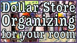 Dollar Store Room Organizing! + Decorating Ideas - YouTube