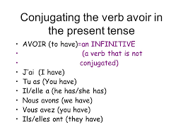 Etre Verb Chart French Conjugation Linguaworld In