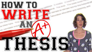 thesis statements four steps to great second recap acirc reg