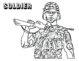 Soldiers Coloring Pages Soldier Coloring Pages Soldier Coloring Page