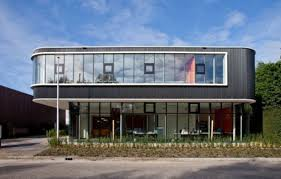 group contemporary office. verkerk group contemporary office building beautiful front view n