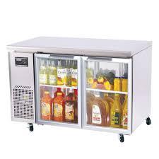 turbo air jur 48 g glass door undercounter refrigerator