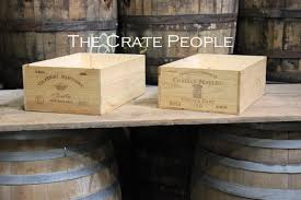Assorted French WINE Crates