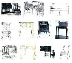 different styles of furniture. Antique Styles Furniture Different Types Of F .