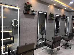 Simple Beauty Parlour Design Tide Shop European Style Simple Beauty Salon Mirror Touch