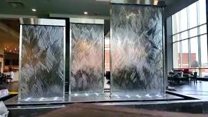 indoor water wall how to build a waterfall custom glass walls waterfalls homemade feature ideas me