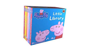 <b>Peppa Pig</b> Little Library 6 Books for Little Hands by <b>Genuine Peppa</b> ...