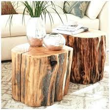 tree stump table base endearing tree trunk table base the coffee table with tree trunk base