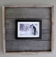 Diy Rustic Frame Picture Frames Archives My Repurposed Life