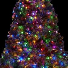 Christmas Tree With White And Multicolor Lights 10 Royal Fir Quick Shape Artificial Christmas Tree With 1600 Warm White Multi Color Color Led Lights