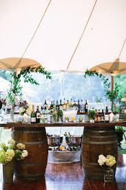 creative wedding bar ideas for rustic weddings
