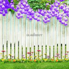 Tidy And Beautiful Garden Digital Printed Photography Backdrop YHA043