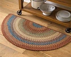 polypro roanoke half round rug