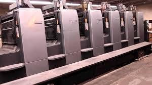 Heidelberg 8 Color Sheet Fed Printing Press Model Sm102 8 P5 L