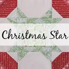 November Noel: A Christmas Star Quilt Block   Blossom Heart Quilts & Christmas star block The Bee Hive Adamdwight.com