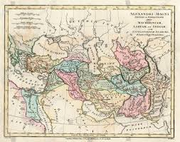 Places Maps Chart Key Libya India Greece Middle East Persia