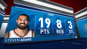 Steven Adams (19 points) Highlights vs ...