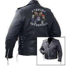 avenged sevenfold leather jacket image 1 of 3 prev