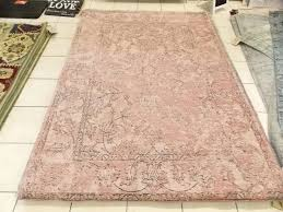 vintage style rug color pink turkish rugs chenille