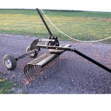 48 Inch Tow Behind Landscape Rake