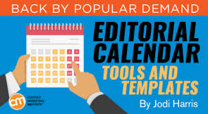 calender tools editorial calendar templates