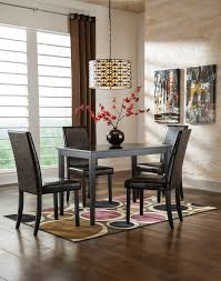 kimonte rectangular table 4 uph side chairs