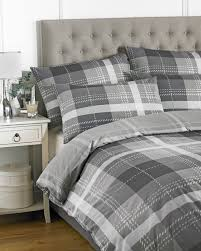 clubhouse duvet cover set charcoal single zoom