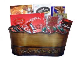 photo of gift in basket toronto on canada all gourmet gift baskets