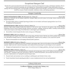 Cook Resume Sample Fancy Idea Cook Resume Sample 100 Chef Sample Examples Sous Jobs 64