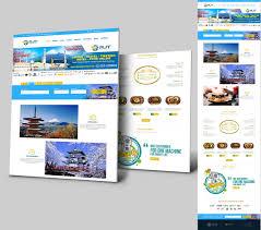 Ge Online Service Login Sribu Web Design Design Website Untuk Rafiska Japan Trav