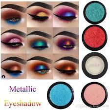 2018 brand pa waterproof metallic eyeshadow glitter eyeshadow highlight makeup eye shadow single shimmer eyeshadow eye makeup tutorial eyeshadow
