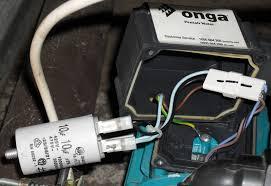 grant trebbin replacing a motor run capacitor Pump Motor Capacitor Waring Diagram Picture new capacitor installed AC Motor Diagram