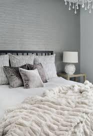 Wallpaper bedroom feature wall