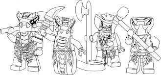 Small Picture LEGO Ninjago Coloring Pages Free Printable Color Sheets In itgodme