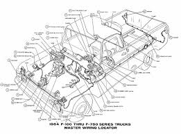 wiring diagram for ford f info master wiring diagram of 1964 ford f100 f750 truck series wiring diagram